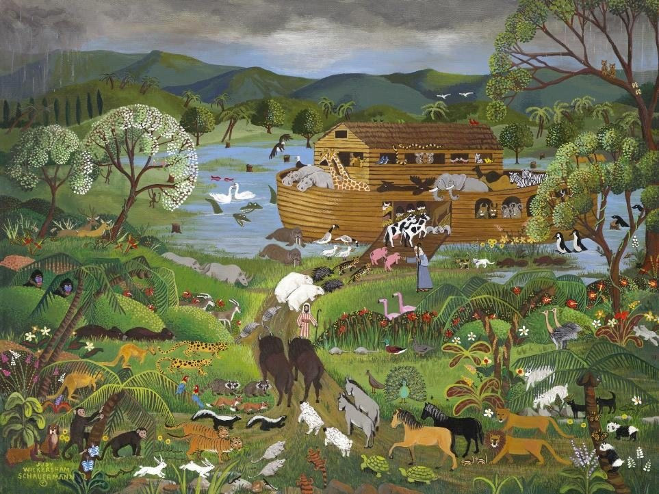 noah s ark painting we offer 100 % handmade reproduction of noah s ark ...