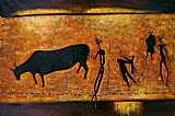 ancient Wall Art - Ancient hunting