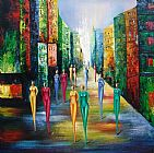 Famous Night Paintings - Colorful Night