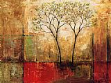 2010 Canvas Paintings - Mike Klung Morning Luster I
