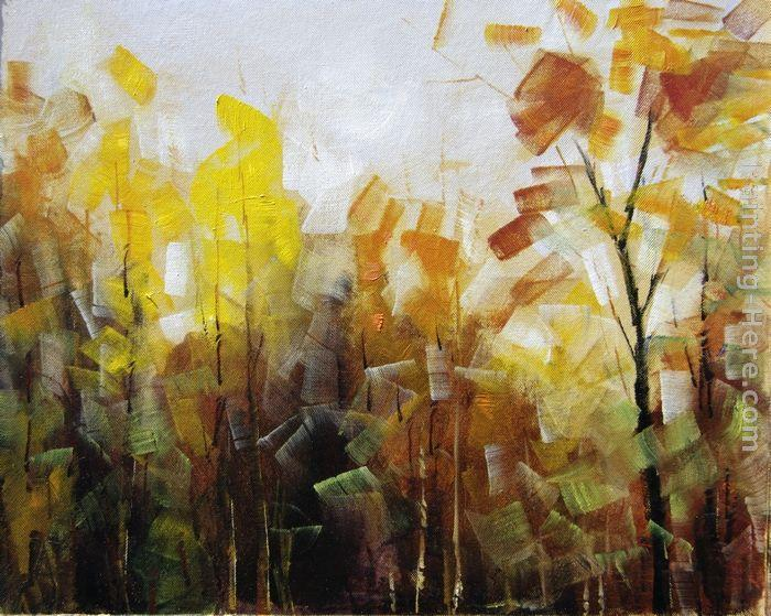 Abstract Landscape Paintings Abstract Landscape Painting