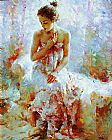2011 Ballerina by Stephen Pan painting
