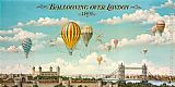 2011 Canvas Paintings - Ballooning over London