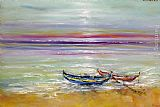 Famous Boats Paintings - Boats at the Black Sea