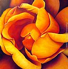 2011 HEART OF THE ROSE painting