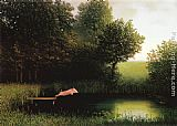 2011 Canvas Paintings - Michael Sowa Pig