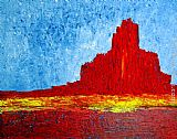 Valley Canvas Paintings - Monument Valley