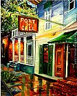 Famous Port Paintings - Port of Call in New Orleans