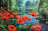 Famous Red Paintings - Red Poppies