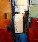 2011 Canvas Paintings - Towering Grid