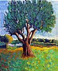 2011 Canvas Paintings - growth - tree