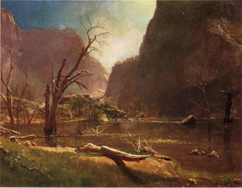 Albert Bierstadt Hatch-Hatchy Valley, California
