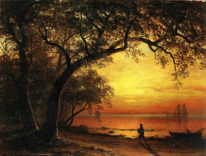 Albert Bierstadt Island of New Providence