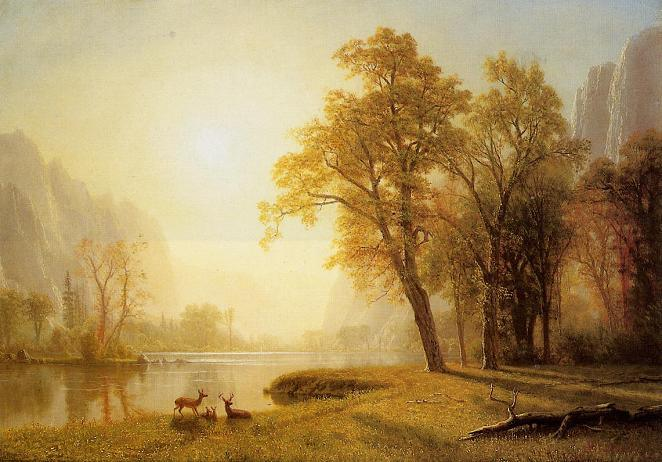 Albert Bierstadt King's River Canyon, California