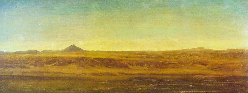 Albert Bierstadt On the Plains