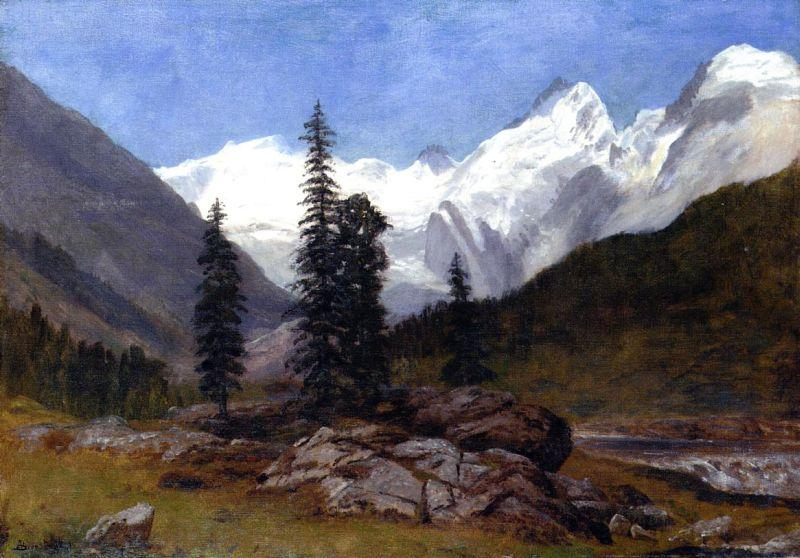 Albert Bierstadt Rocky Mountain