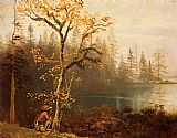 Albert Bierstadt Indian Scout painting