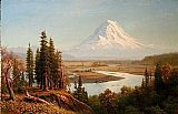 Albert Bierstadt Mount Rainier painting
