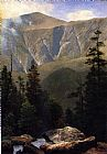 Albert Bierstadt Mountainous Landscape painting