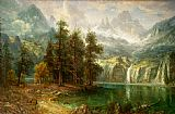 Albert Bierstadt Famous Paintings - Sierra Nevada