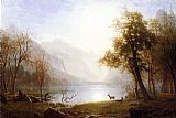 Albert Bierstadt Wall Art - Valley in Kings Canyon