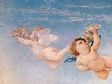 Famous Angel Paintings - Birth of Venus angel