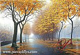 ave Wall Art - Autumn Leaves