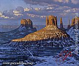 val Wall Art - Monument Valley