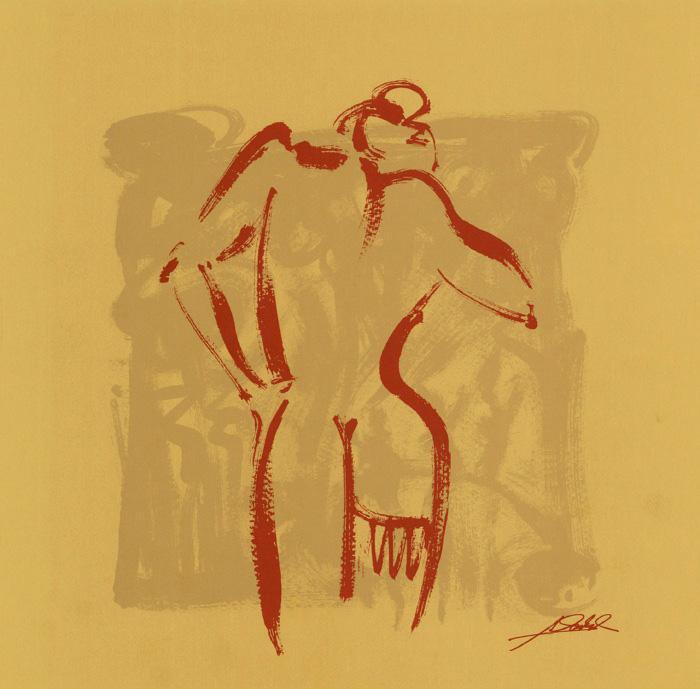 Alfred Gockel Body Language II (gold)