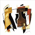 Alfred Gockel Canvas Paintings - Arena I
