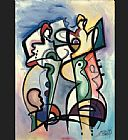 Alfred Gockel Coolest Jazz painting