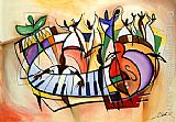 Alfred Gockel Wall Art - Fiesta