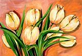 Beauty Canvas Paintings - Natural Beauty Tulips I