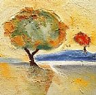 Alfred Gockel The Tree I painting
