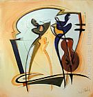Alfred Gockel Wall Art - swingin