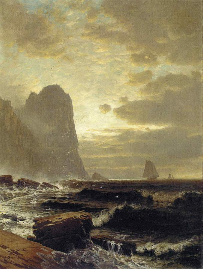 Alfred Thompson Bricher At the South Head_ Grand Manan