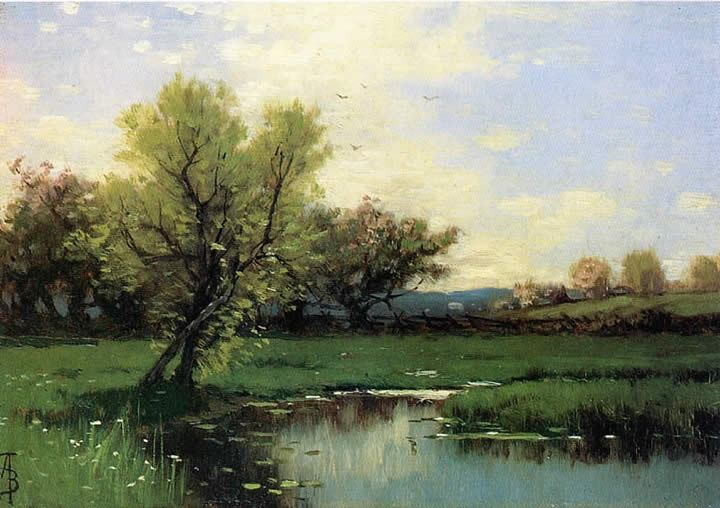 Alfred Thompson Bricher Springtime