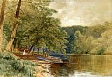 Alfred Thompson Bricher Famous Paintings - Rowboats for Hire