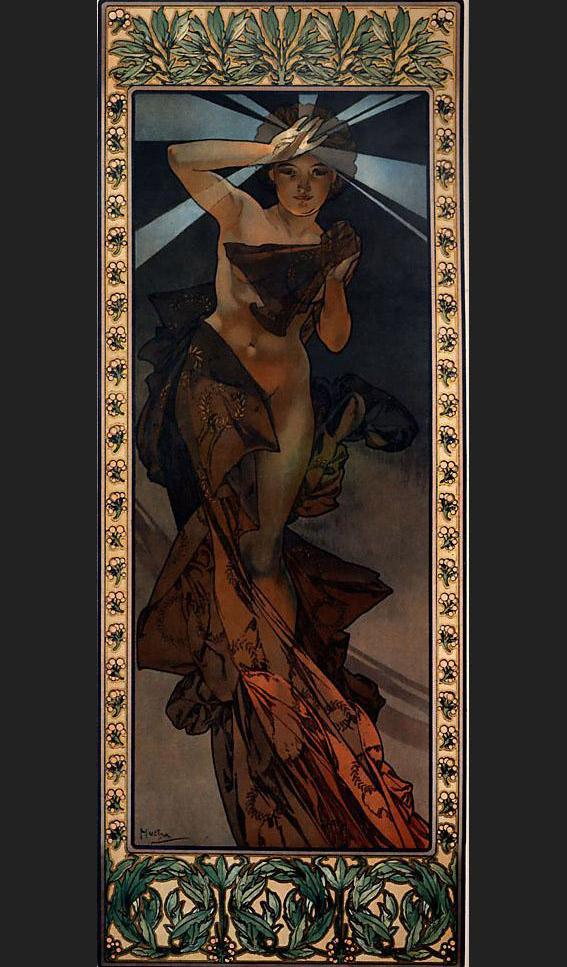 Alphonse Maria Mucha Morning Star