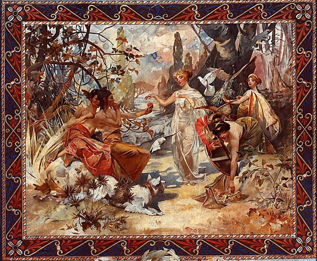 Peter Paul Rubens - The Judgement of Paris c1606 Poster