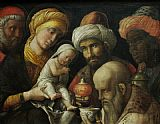 Andrea Mantegna - Adoration of the Magi