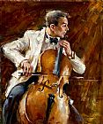 Andrew Atroshenko Canvas Paintings - Bassline