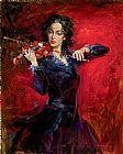 Andrew Atroshenko Canvas Paintings - Music