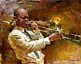 Andrew Atroshenko Canvas Paintings - Solid Brass