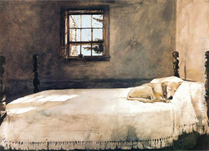 Andrew Wyeth Master Bedroom Painting