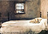 andrew wyeth wind from the sea painting framed paintings 12349 | master 20bedroom