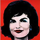 Andy Warhol Famous Paintings - Jackie 1964
