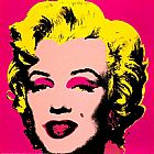Andy Warhol Famous Paintings - Marilyn Monroe Pink