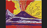 Andy Warhol Mount Vesuvius painting