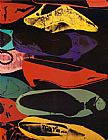 Andy Warhol Shoes 1980 painting